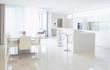 Luxury modern kitchen. Interior design - 125396778