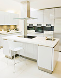 beautiful apartment, interior, kitchen - 125396796