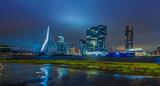 Skyline von Rotterdam bei Nacht 3