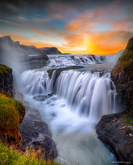 Gulfoss Falls, Iceland © Chris