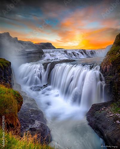 Fototapeta Gulfoss Falls, Iceland