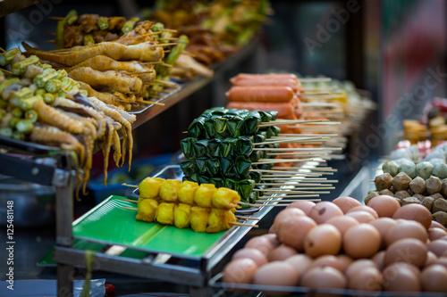 Street food at a small local market, Dalat, Vietnam