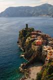 Vernazza piccolo paese delle cinque terre, italia