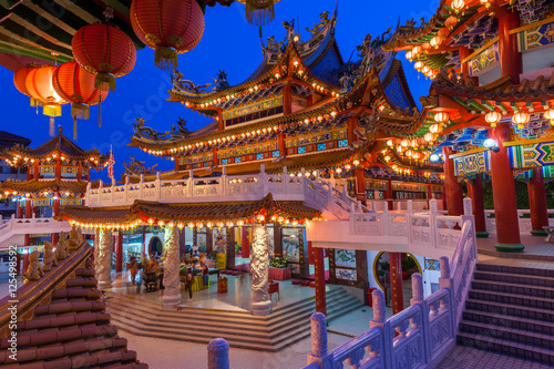 Thean Hou Temple on the Mid-Autumn Festival, Kuala Lumpur Poster