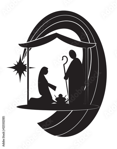 Resurrection of Jesus Christ - the risen Lord, abstract artistic religious Easter illustration