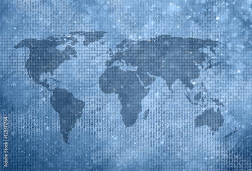 streszczenie-mapa-swiata-z-liczb-binarnych