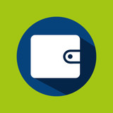 man tourist traveler wallet money design, vector illustration  graphic