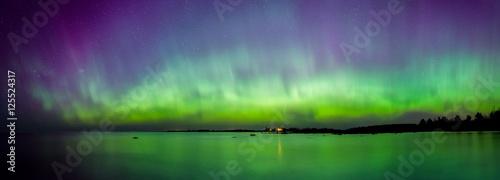 Fotobehang Noorderlicht Aurora Borealis