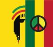 Постер, плакат: Reggae Culture Concept Design