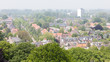 LEEUWARDEN, NETHERLANDS - MAY 28, 2016: View of a part of Leeuwa