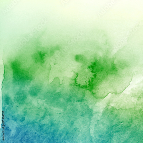 Watercolor blot - 125584597