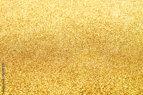 Billede Golden glitter texture abstract background.