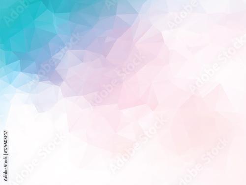 różowy niebieski tło geometryczne
