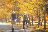 senior couple outdoors - 125627106