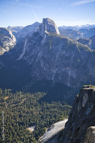 Poster Half Dome in Yosemite National Park viewed from Glacier point