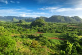 landscape of valley of Vinales,Cuba
