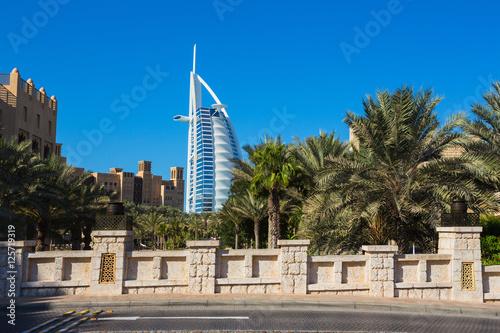 Fotobehang Dubai luxury hotel Burj Al Arab
