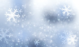 Fototapety Winter snow background for christmas.