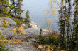 On the shore of Great Slave Lake