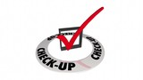 Check-Up Physical Evaluation Test Exam Mark Box 3d Animation