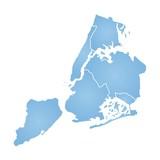 New York City map - 125786784