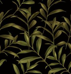 leaf seamless pattern