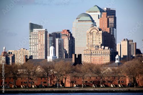 Foto op Aluminium New York New York skyscrapers in Manhattan, USA