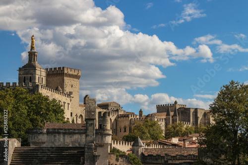 Poster palais des papes en Avignon