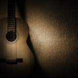 Acoustic guitar classical music instruments - 125889960