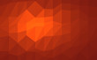 orange abstract background low poly. Vector illustration