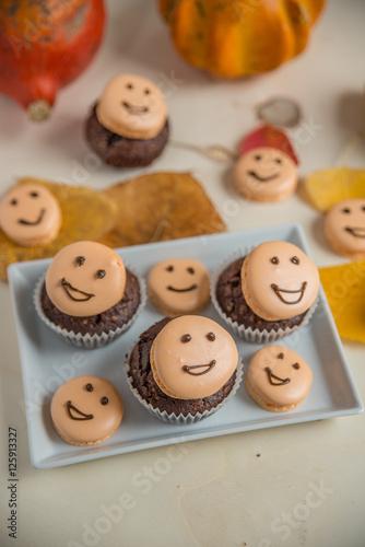 Poster Halloween Cupcakes