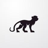 monkey icon illustration - 125930938
