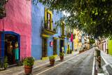 Fototapety Callejon de los Sapos - Puebla, Mexico