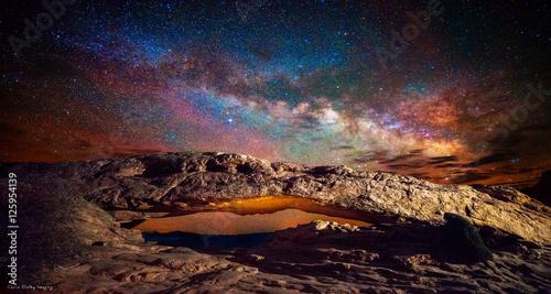 Milky Way at Mesa Arch - 125954139