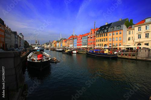 Poster Copenhagen Nyhavn
