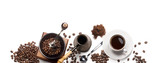 coffee attributes on a white background - 125976309