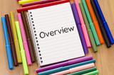 Overview written on notepad