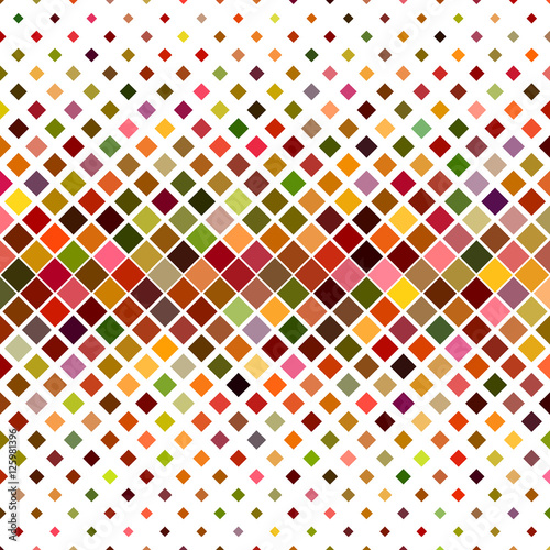 Colorful square pattern background design