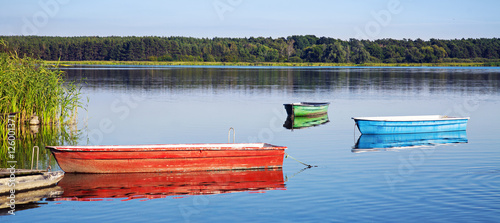 Aluminium Pier Lake in Germany