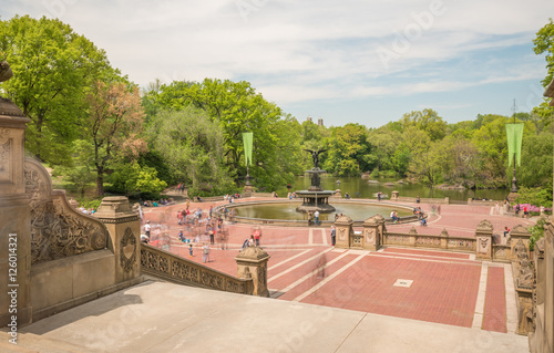 Central Park New York, Bethesda Fountain Poster