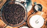 Fresh Espresso Coffee Beans - 126016356