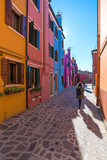 Venice (Italy) - Burano, the town of a thousand colors, an enchanted island in the heart of the Venice lagoon - 126033551