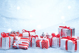 Fototapety Christmas gifts