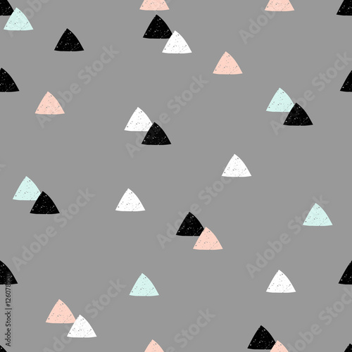 Seamless Abstract Pattern - 126078950