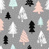Seamless Christmas Pattern - 126079189