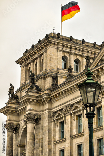 Plagát, Obraz Reichstagsgebäude Berlin