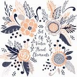 Vector floral set - 126093323