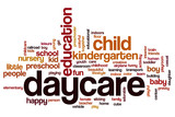 Daycare word cloud