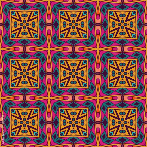 seamless vector colorful Geometric print
