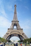 Fototapeta Eiffel Tower - Wieża Eiffel © Katarzyna